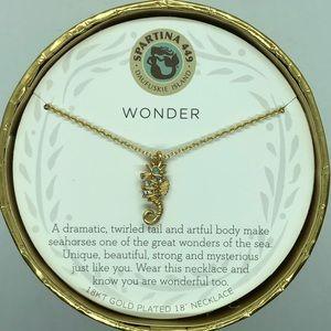 """SLV """"Wonder"""" Seahorse Necklace"""